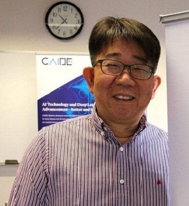 Revolutionizing AI in Healthcare Jacob Lee, CEO, CAIDE Systems