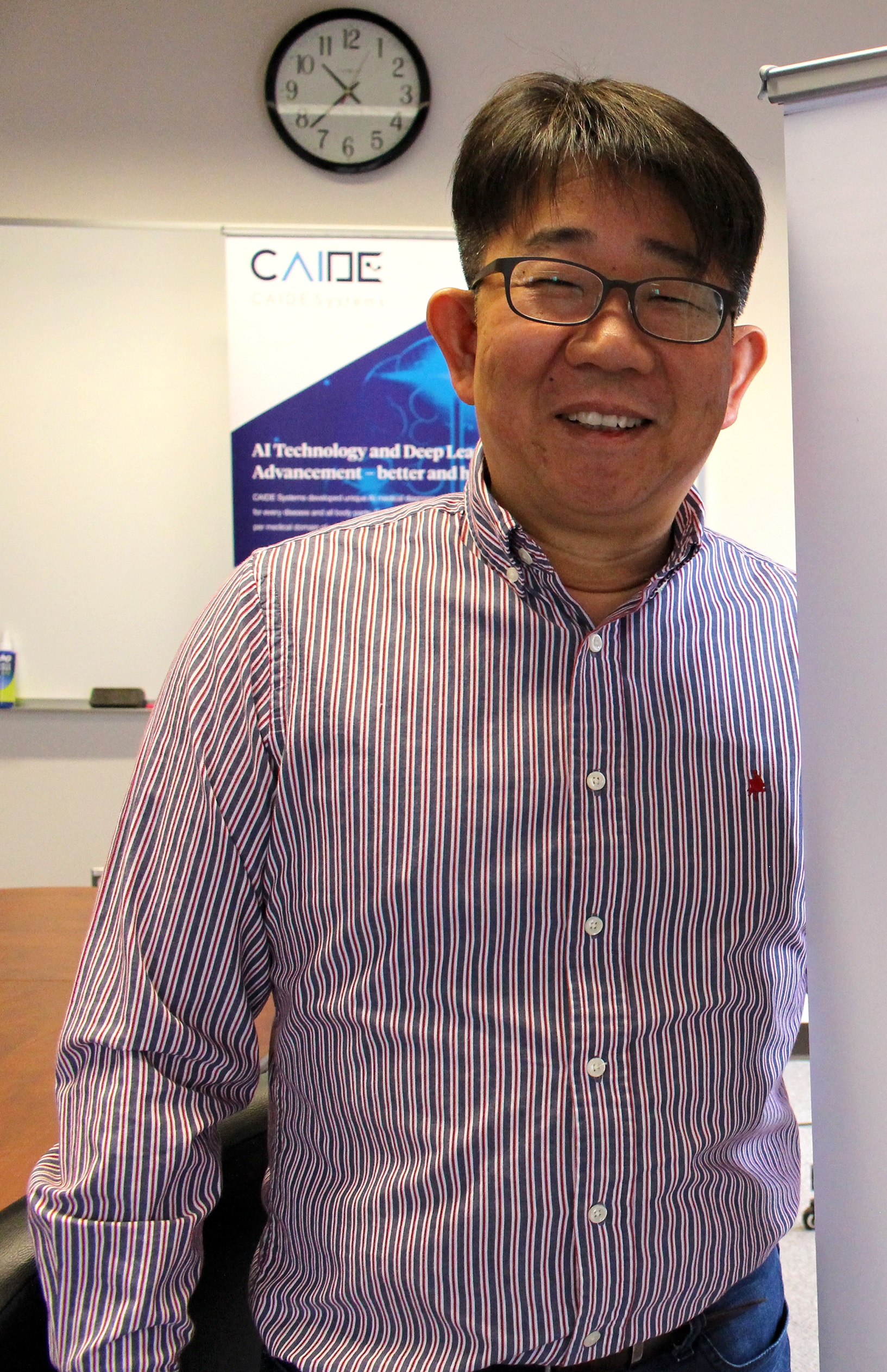 Jacob Lee, CEO CAIDE Systems
