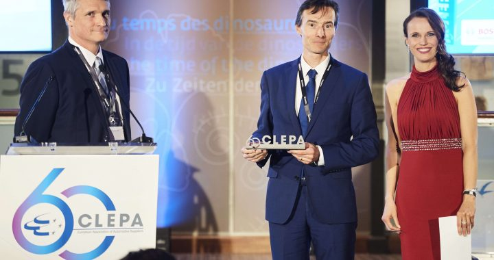 Xenomatix Honoured With Clepa Innovation Award  By Filip Geuens, XenomatiX's CEO