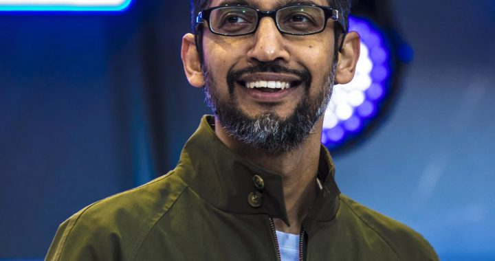 The most recognized Indian Identity  Sundar Pichai, Chief Executive Officer of Alphabet