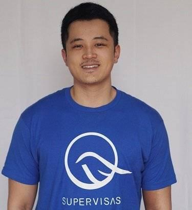 SuperVisas – Regularizing Legalities Around Visa Processes Joe Chen, Co-Founder and COO, SuperVisas